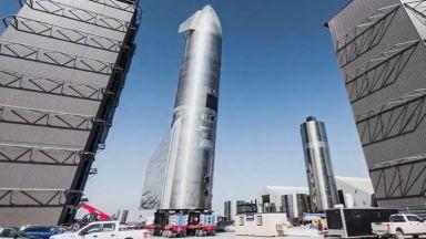 SpaceX разкри подготовката за тестове на космическия кораб Starship (видео)