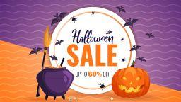 Halloween Sale с големи намаления и отстъпки за нови продукти