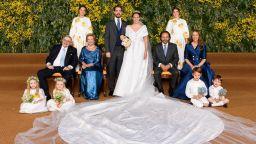 Принц Филипос и Нина Флор вдигнаха трета сватба