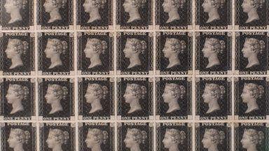 Първата в света пощенска марка се продава на търг