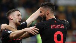 Милан е лидер в калчото след ранен гол и много треперене