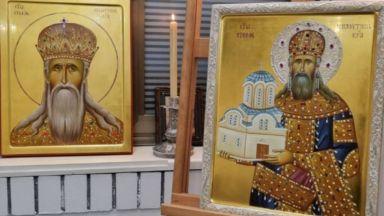 """Даряват икона на сръбския крал Милутин на столичния храм """"Света Неделя"""""""