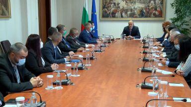 Представители на македонските българи се срещнаха с президента