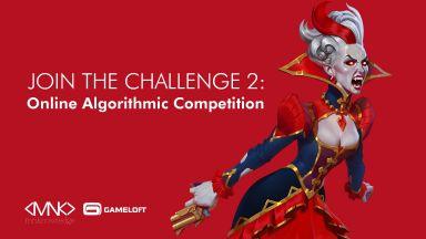 Gameloft Sofia застава зад второто издание на алгоритмичния турнир The Challenge