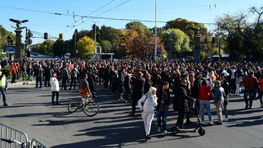 Бизнесът въстана срещу зеления сертификат: Блокади и шествия в цялата страна (снимки)
